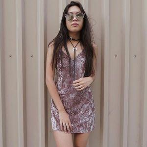 Dresses & Skirts - Crushed Velvet Dress